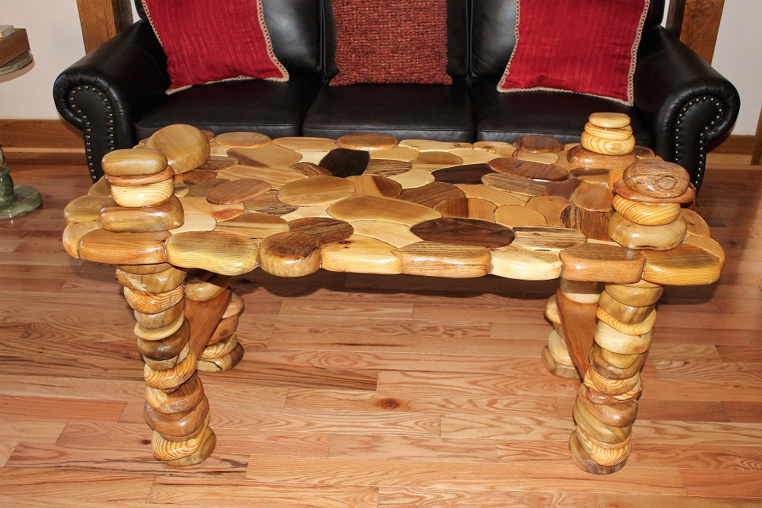 A New Coffee Table For The Lobby At The Fenton Inn