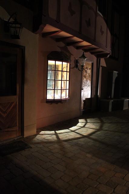 workshop window casts shadows