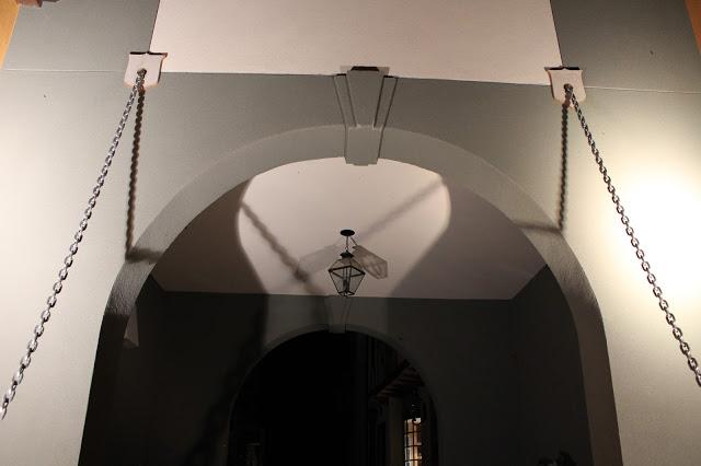 draw bridge chains cast shadows