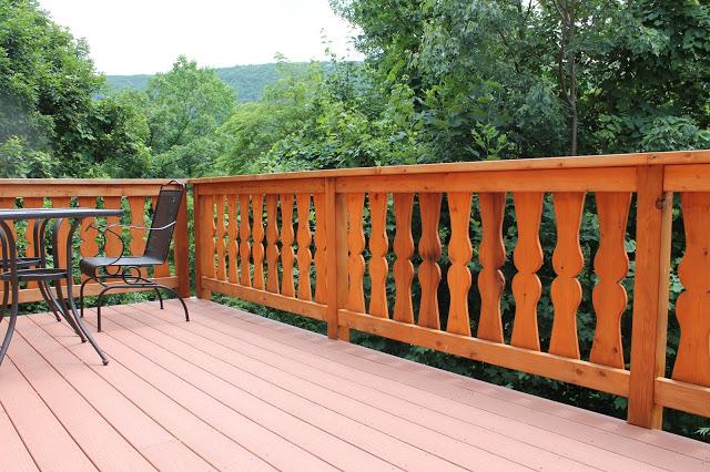 custom railing italian style fenton inn va