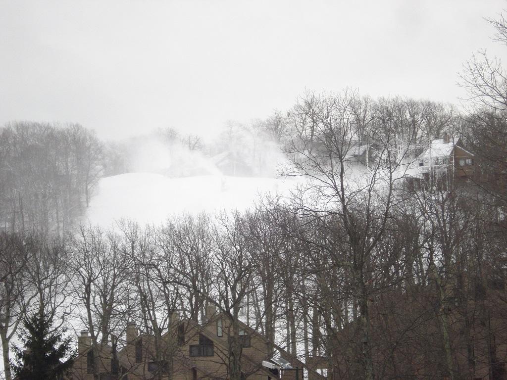 making-snow