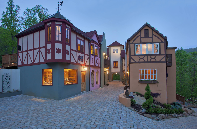 bavarian style village