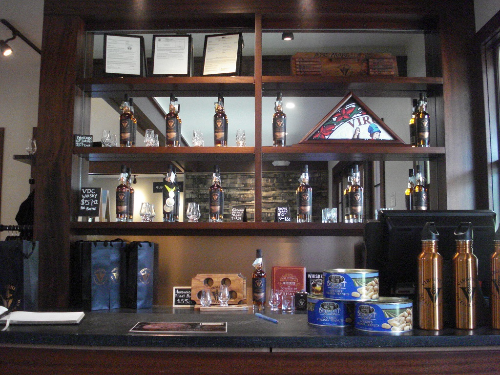 whisky-display